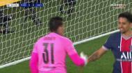 A aquecer os motores: Neymar ameaça baliza de Ederson