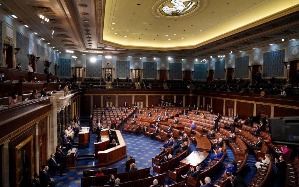 Biden assinala dia 100 como presidente com o primeiro discurso no Congresso