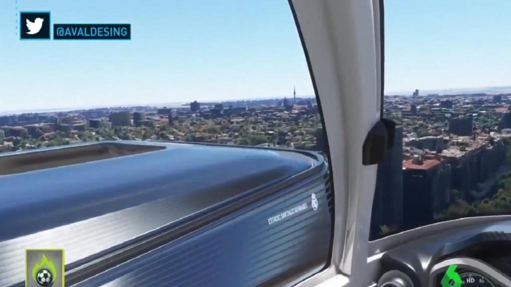 Santiago Bernabéu (twitter)