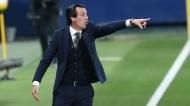 Unai Emery no Villarreal-Arsenal (Alberto Saiz/AP)