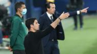 Mikel Arteta no Villarreal-Arsenal (Alberto Saiz/AP)