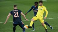 Liga Europa: Manu Trigueros, Thomas Partey e Chambers no Villarreal-Arsenal (Alberto Saiz/AP)