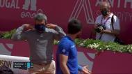 Estoril Open: irrita-se com fotógrafo, grita-lhe e acaba advertido