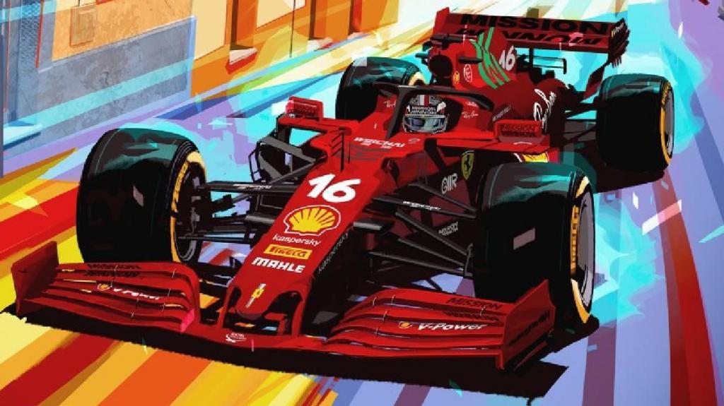 Scuderia Ferrari Simone Delladio Ilustração