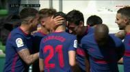 Com a ajuda de um adversário, Llorente dá vantagem aos At. Madrid