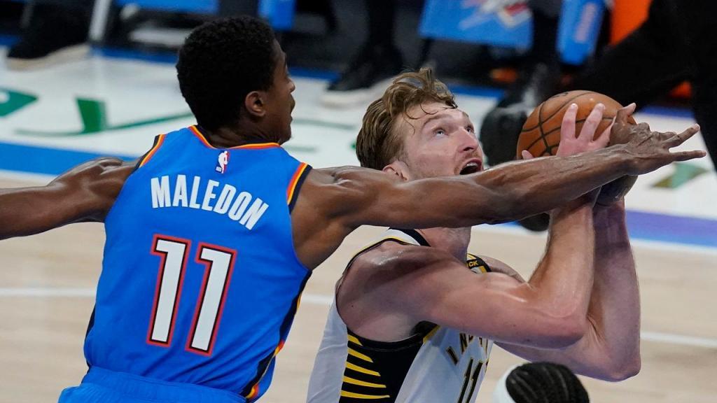 Oklahoma City Thunder-Indiana Pacers (AP Photo/Sue Ogrocki)