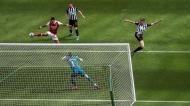 Newcastle-Arsenal (Lusa)