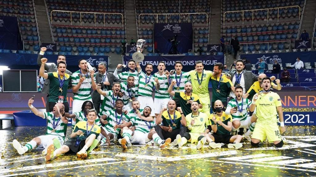 Sporting futsal (foto UEFA)