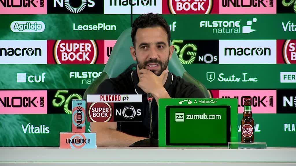 «Suspensão? A maior dificuldade é para o Adélio, que fica pior a ver o jogo comigo»