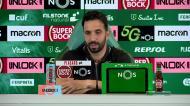 Sporting: Amorim revela ausência de Pedro Porro em Vila do Conde