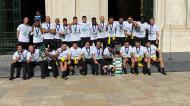 Sporting recebido na CM Lisboa após o título europeu de futsal (twitter SCP)