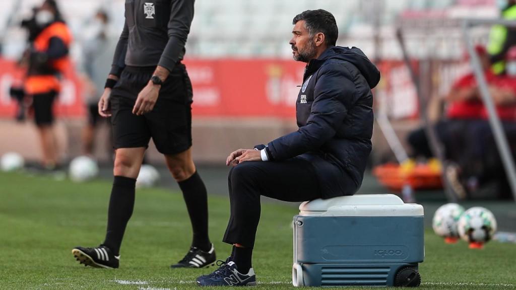 Sérgio Conceição no Benfica-FC Porto (Mário Cruz/LUSA)
