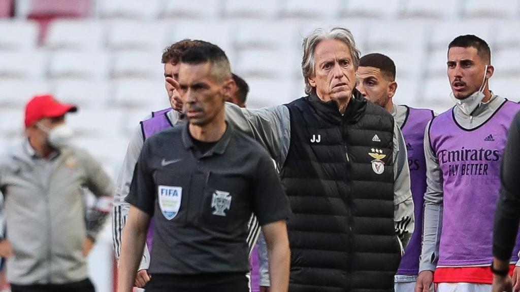 Jorge Jesus no Benfica-FC Porto (Mário Cruz/LUSA)