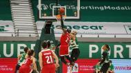 Play-off Liga de Basquetebol | Jogo 1, meias-finais | Sporting-Benfica (Foto: FP Basquetebol)