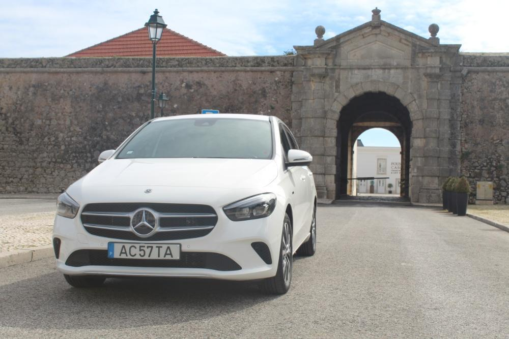 We drive the efficient and urban Mercedes B-Class 250e