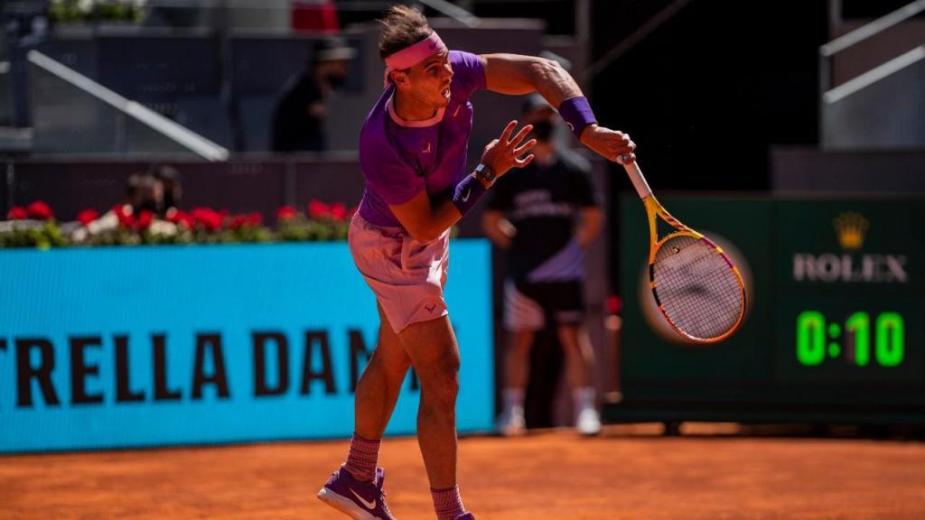 Rafael Nadal (AP Photo/Bernat Armangue)