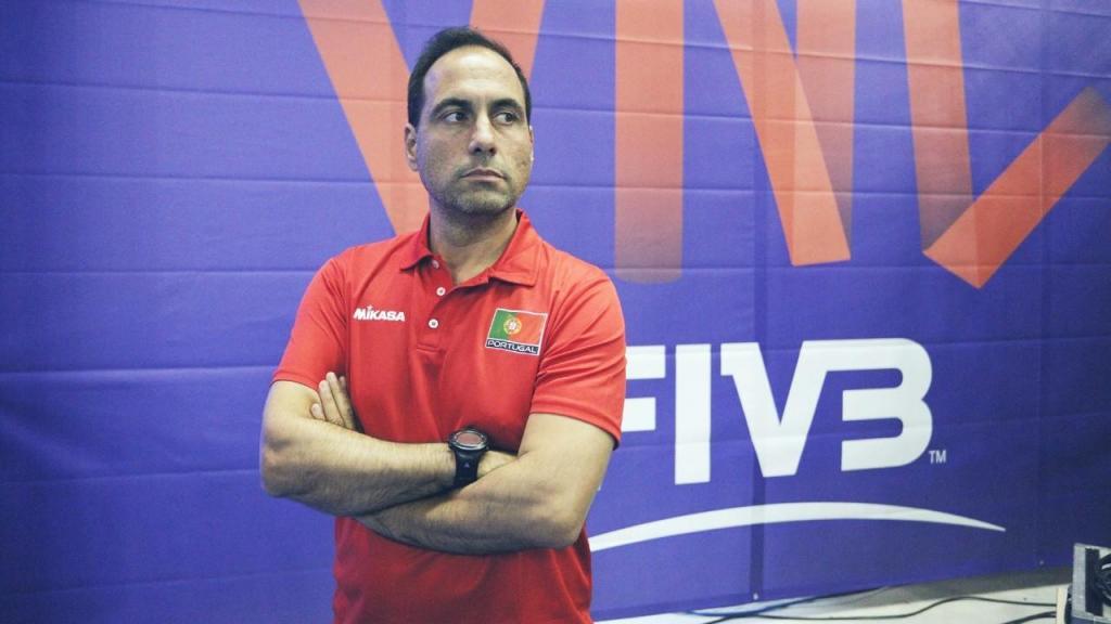 Hugo Silva, selecionador nacional de voleibol (FP Voleibol)