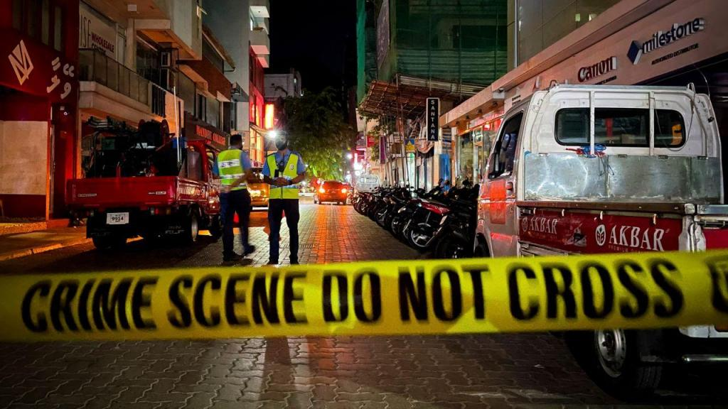 Explosão nas Maldivas
