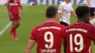 Bayern continua em festa: Lewandowski bisa com um golaço