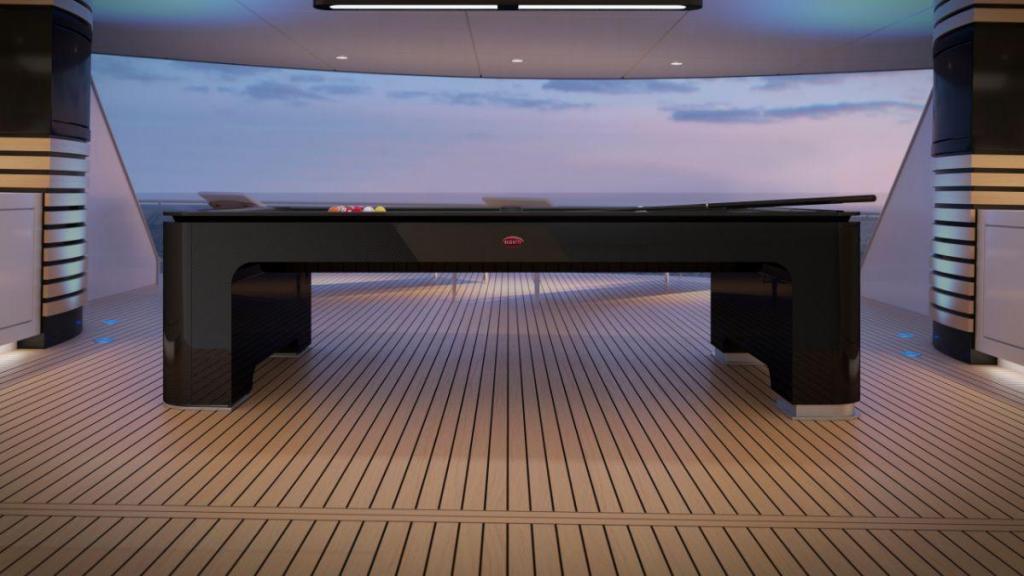 Mesa de Pool Bugatti