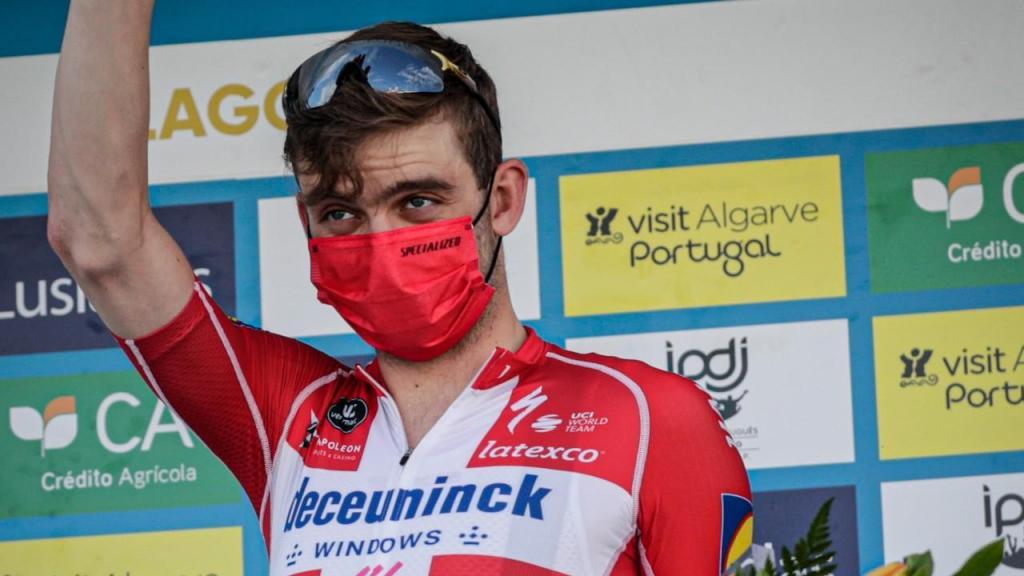 Kasper Asgreen, da Deceuninck-QuickStep, vence a quarta etapa da Volta ao Algarve (Luís Forra/LUSA)