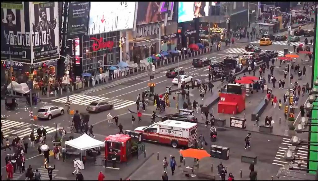 Tiroteio em Times Square