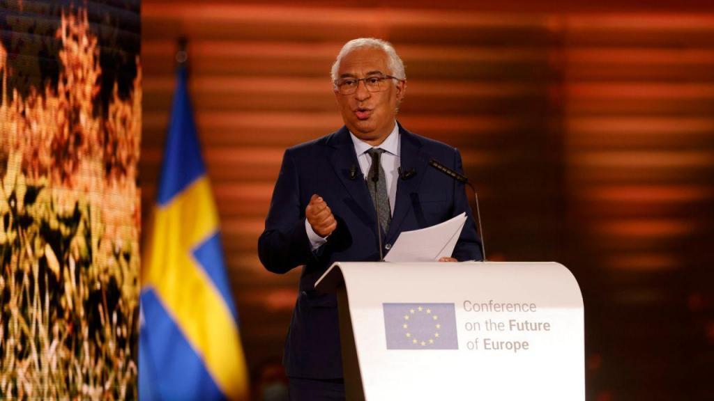 António Costa na Conferência em Estrasburgo