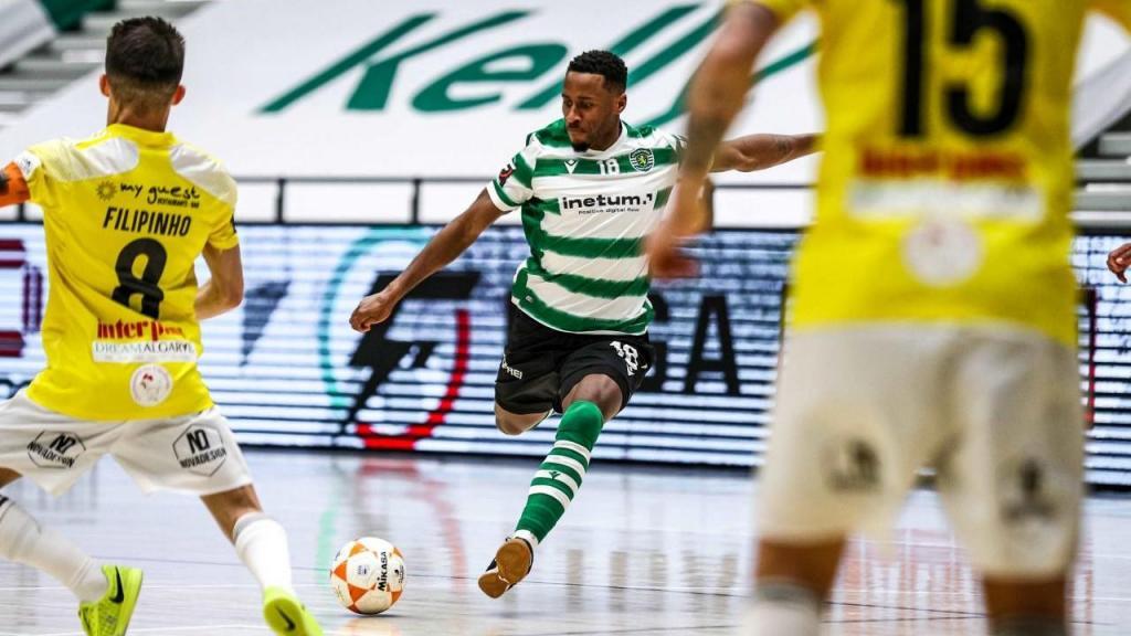 Futsal 2020/2021: Sporting-Portimonense (arquivo Sporting CP)