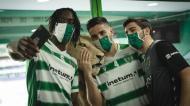 Zicky Té, Tomás Paçó e Bernardo Paçó (Sporting CP)