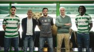 Zicky Té, Tomás Paçó e Bernardo Paçó renovam com o Sporting (Sporting CP)