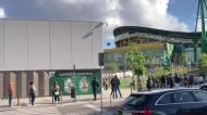 Entusiasmo em Alvalade: filas enormes para a Loja Verde