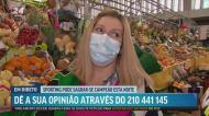 Sportinguistas do Mercado de Alvalade não acreditam que título ainda fuja