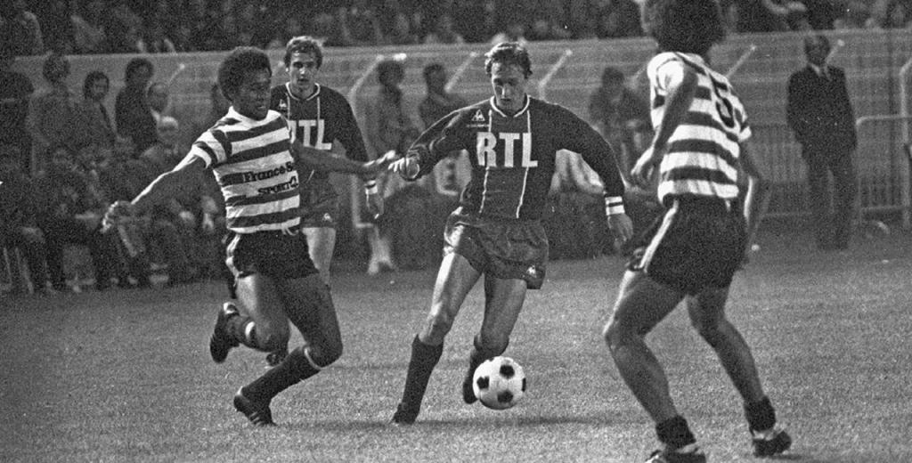 Cruyff contra o Sporting