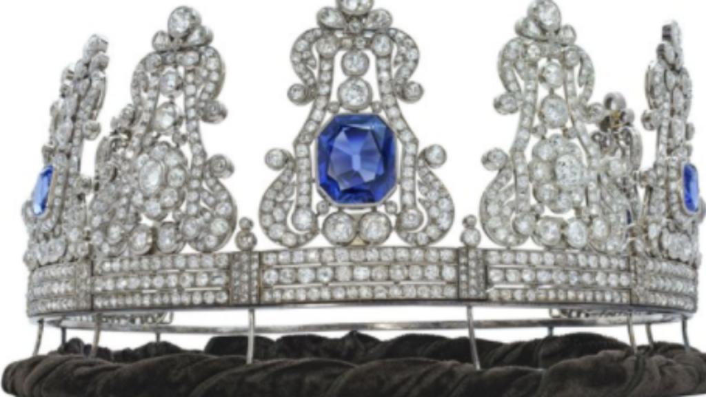 Coroa da rainha Maria II