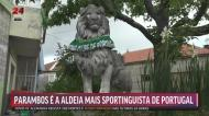 Na aldeia mais sportinguista de Portugal lançaram-se foguetes e tocou-se bombo a noite toda