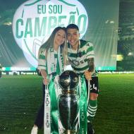 Pedro Porro e a namorada Elisabeth