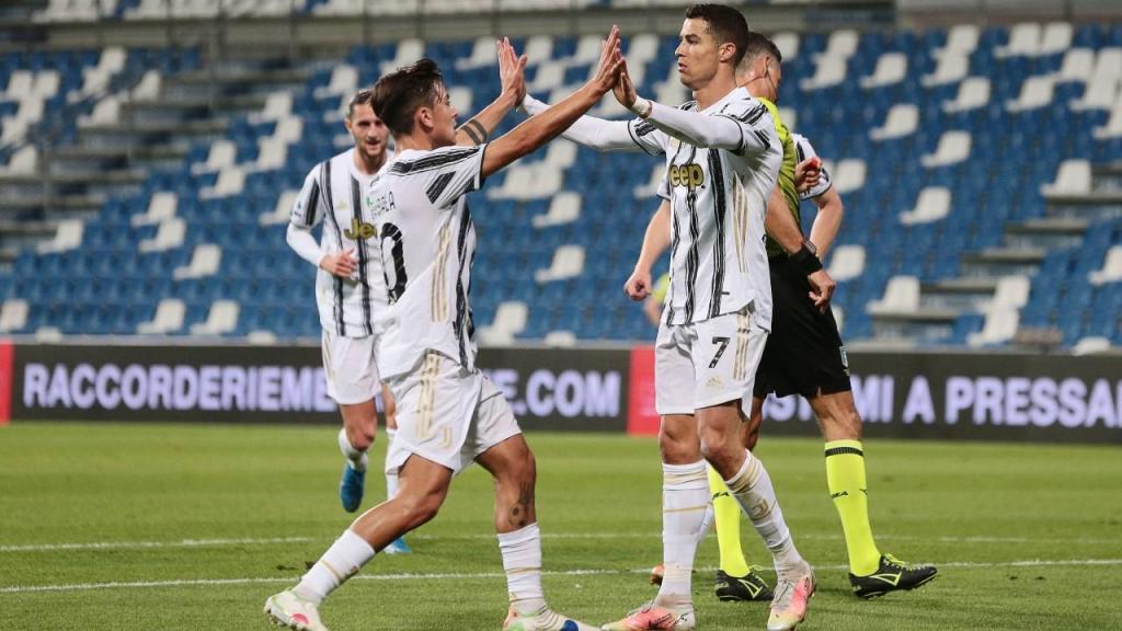 Sassuolo-Juventus (EPA)