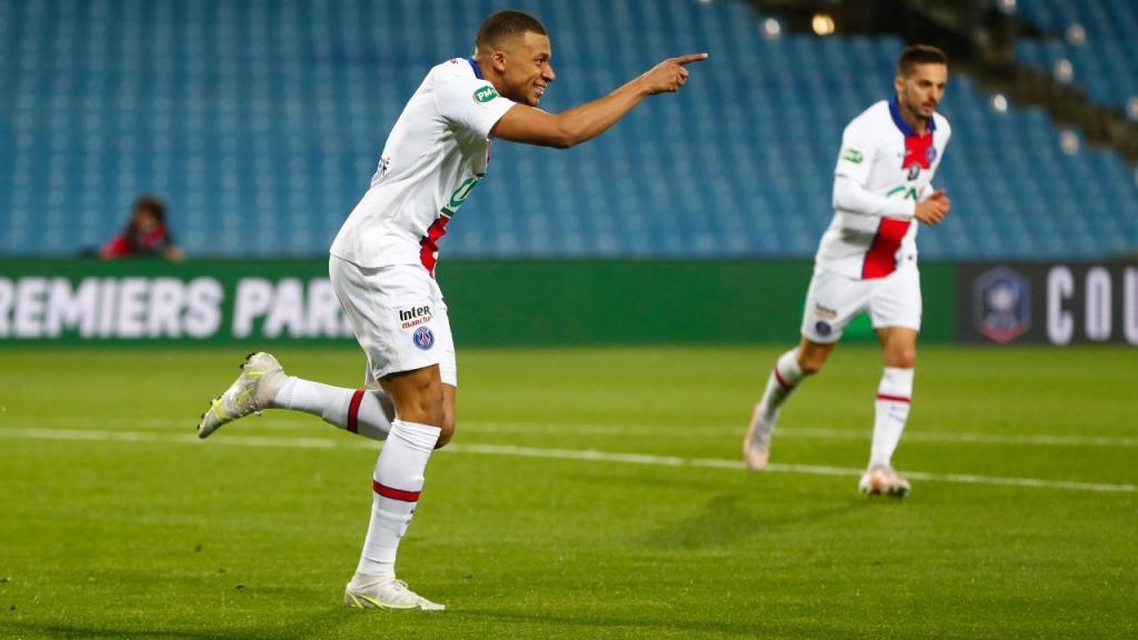 Montpellier-PSG (Guillaume Horcajuelo/EPA)
