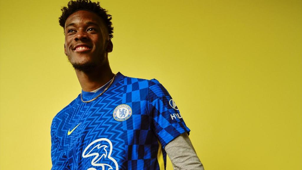 A nova camisola do Chelsea para 2021/22