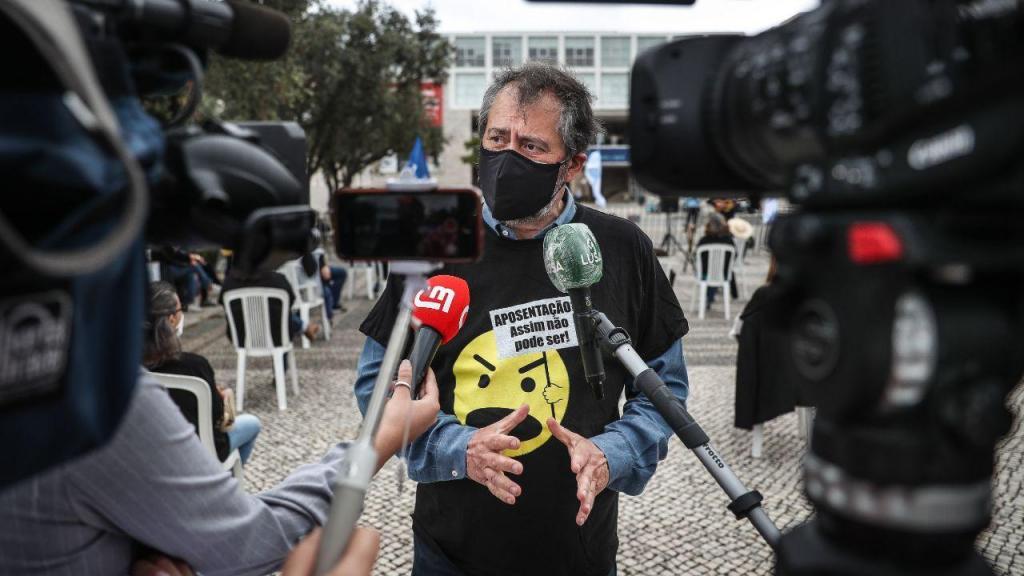 Professores protestam em Lisboa
