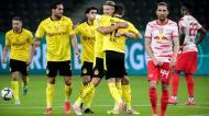 Leipzig-Dortmund, final da Taça da Alemanha (EPA)