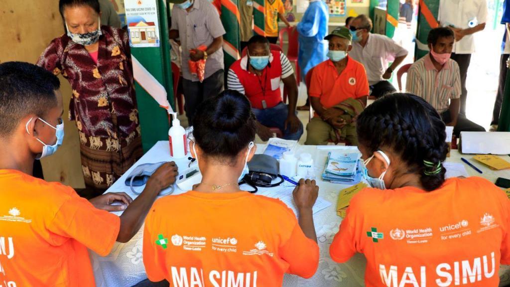 Vacinação em Timor-Leste