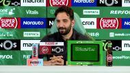 Amorim revela que Jesus deu os parabéns a Varandas pelo título do Sporting
