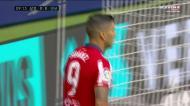 Suárez tenta o golo, mas Sergio Herrera prolonga a seca do uruguaio
