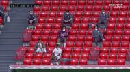 Atlético Madrid empata no outro jogo e, da bancada, Marcelo avisa os colegas