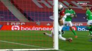 A prova de que a sorte não quis nada com o Lille nos minutos finais