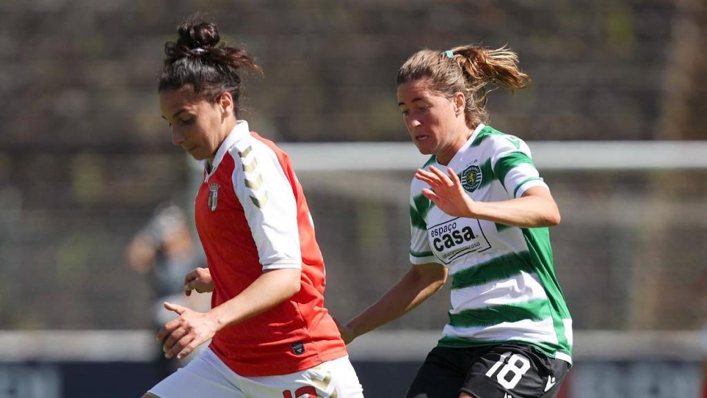 Liga feminina (Apuramento Campeão): Sp. Braga impôs primeira derrota desta fase ao Sporting (FPF)