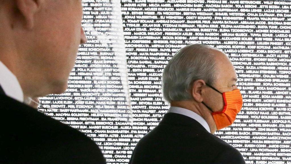 Rui Rio visita o museu do holocausto