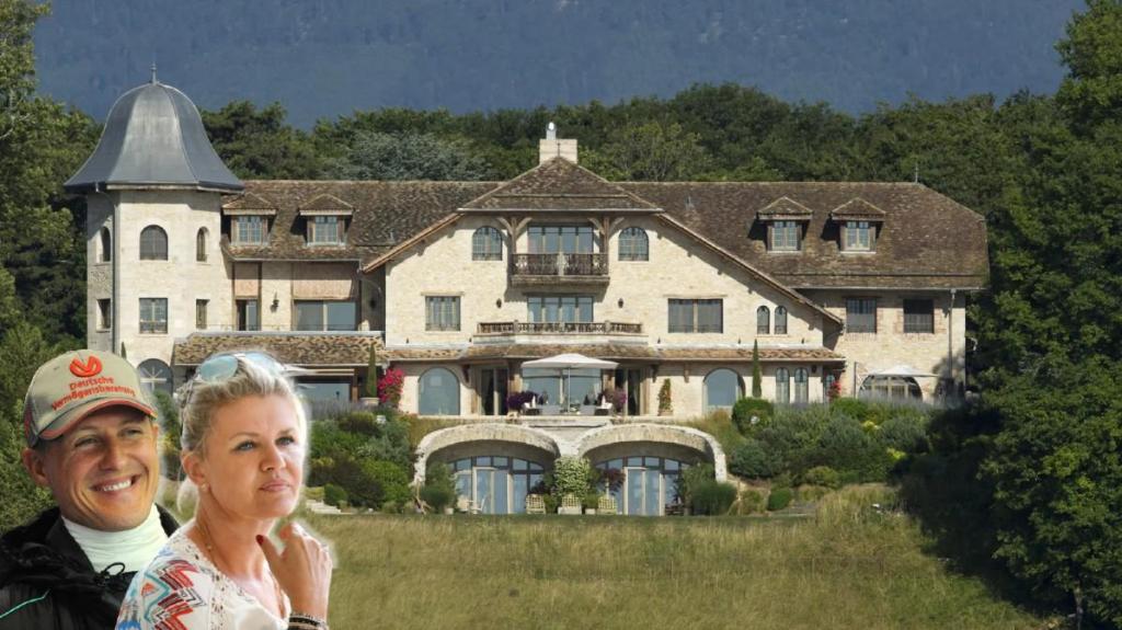 Corinna Schumacher vende mansão suíça