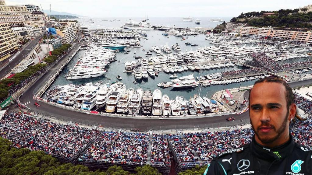 Lewis Hamilton GP Monaco